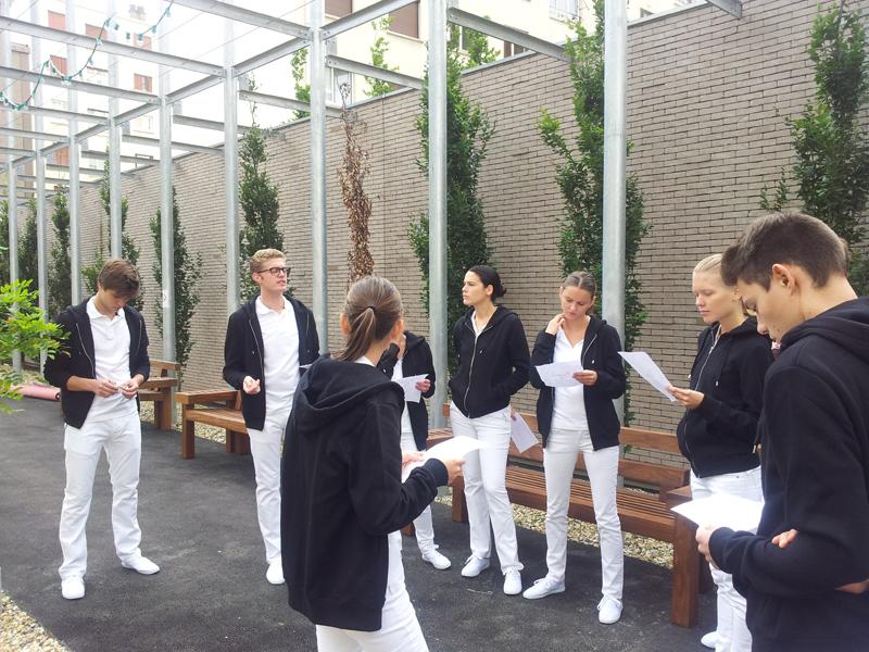 ff424899d1d Florence Doré - Inauguration des nouveaux bureaux Hermès de Pantin