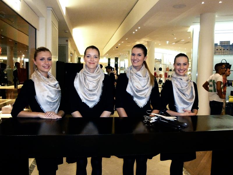 a05cceded79 Florence Doré - Inauguration Boutique Louis Vuitton